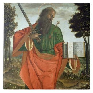 St. Paul, 1520 (oil on panel) Tile