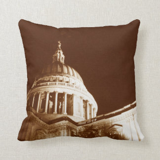 St Paul's Cathedral – Sepia Cushion