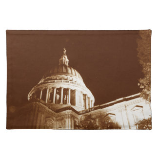 St Paul's Cathedral – Sepia Placemat