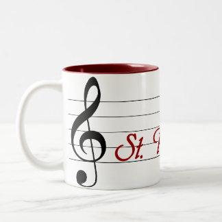 St. Paul's Choir Two-Tone Coffee Mug