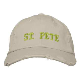 ST. PETE EMBROIDERED HATS