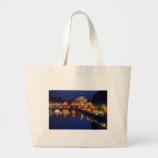 St. - Peter church in Rome Large Tote Bag
