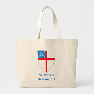 St Peter's Episcopal Shield Jumbo Tote Bag