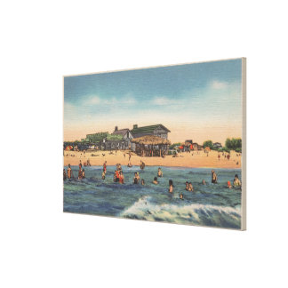 St. Petersburg, FL - View of Treasure Island Canvas Print