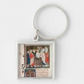 St. Remigius  Bishop of Rheims Key Chain