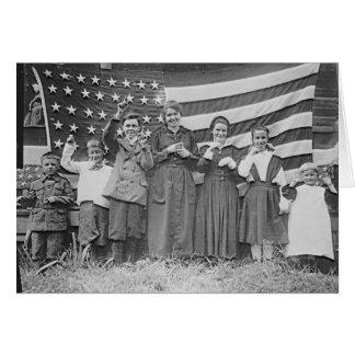 St. Rita's School Students Cincinnati 1918 Card
