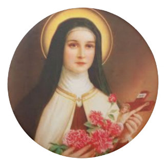 St. Therese the Little Flower Eraser