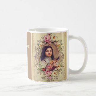 St. Therese the Little Flower Quote Coffee Mug