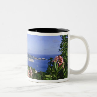 St. Thomas, US Virgin Islands. Charlotte Two-Tone Coffee Mug