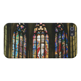 St.Vitus Cathedral Prague Stained Glass Windows Cover For iPhone 5/5S