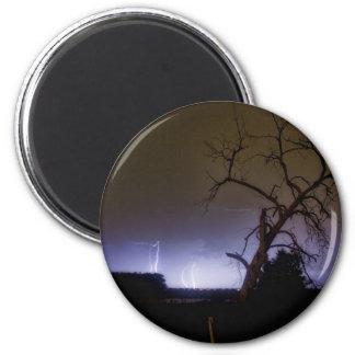 St Vrain Tree Lightning Storm Magnet