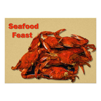 Stack of Steamed Crabs Seafood Feast Announcements