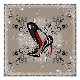 Red Soles Posters | Zazzle.co.nz