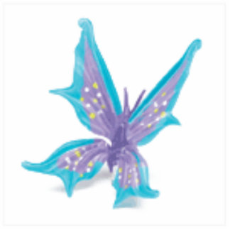 Stacy s Butterfly Keychain Photo Cutout