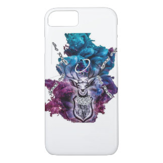 Stag: Celtic Zodiac Animal iPhone 8/7 Case