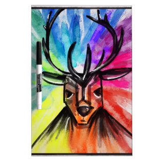 Stag Night Dry-Erase Whiteboards