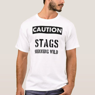 Stag Part T-Shirt : Stags Running Wild