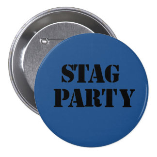 """Stag Party"" design badges"