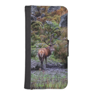 stag photograph iPhone SE/5/5s wallet case