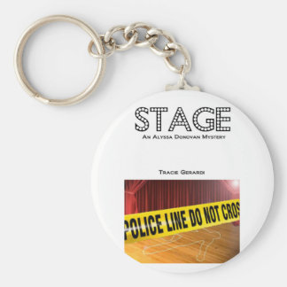 STAGE book cover key fob