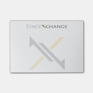 StageXchange Post-it Notes