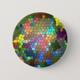 Stained Glass by Shirley Taylor 6 Cm Round Badge