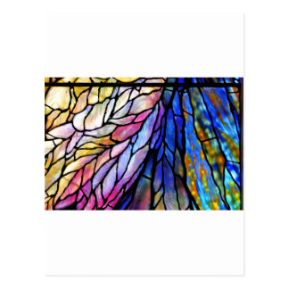 Stained Glass by Tiffany Postcard