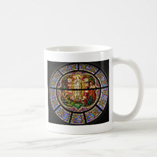 stained-glass coffee mug