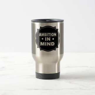 Stainless steet travel mug
