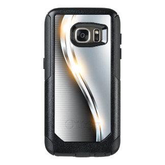Stainless Wave Design OtterBox Samsung Galaxy S7 Case