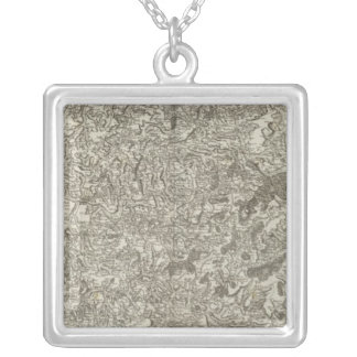 Staint Etienne, Staint Marcellin Silver Plated Necklace