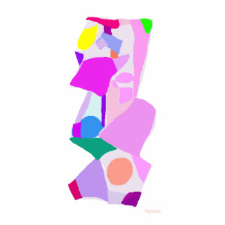 Stairs of Colors Photo Cutout