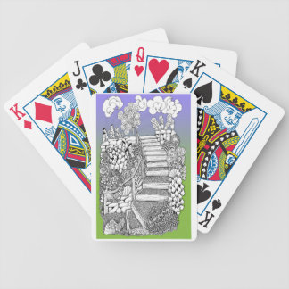 Stairway to Heaven Bicycle Playing Cards