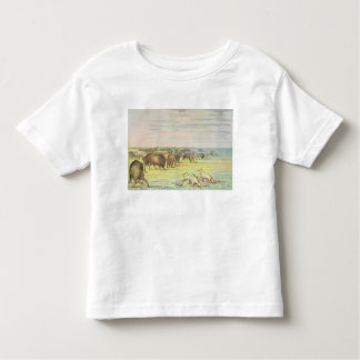 Stalking buffalo toddler T-Shirt