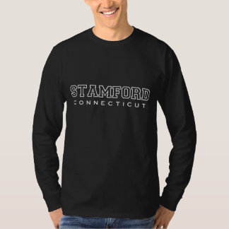 STAMFORD CONNECTICUT CASUAL STYLE GRAPHIC TEE