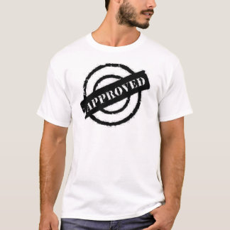 stamp approved black T-Shirt