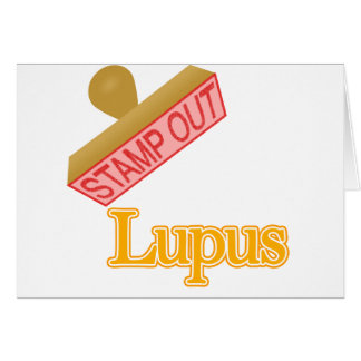 Stamp Out Lupus Card