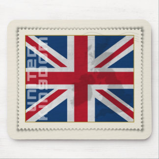 Stamp United Kingdom Mouse Pad