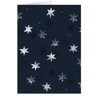 Stamped Star Card