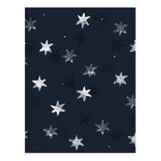 Stamped Star Postcard