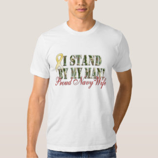 stand by my man navy wife shirts