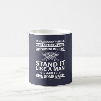 Stand It Like A Man Coffee Mug