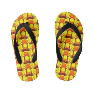 Stand on Yellow Thongs