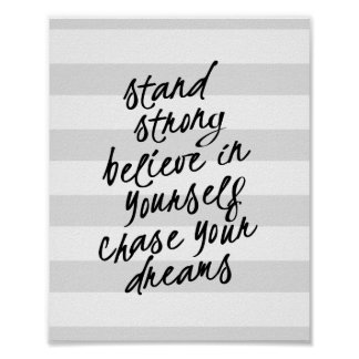 Custom Motivational Quote Posters & Photo Prints | Zazzle.co.nz