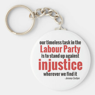 Stand up Against Injustice Key Ring