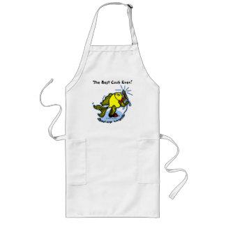 Stand-Up Fish funny comic cartoon Long Apron