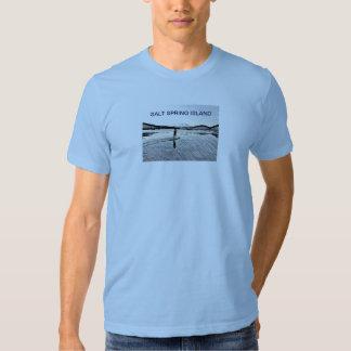 Stand Up Paddle Salt Spring Island t-shirt
