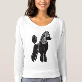 Standard Poodle Women's Flowy Long Sleeve Shirt