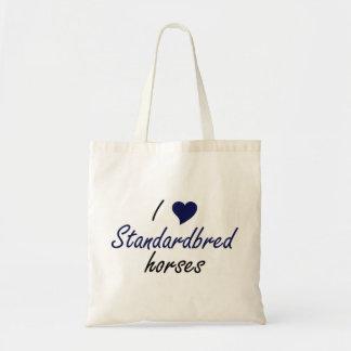 Standardbred horses