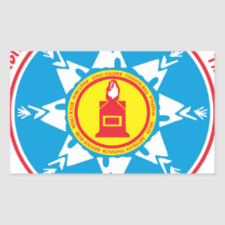 Standing Rock tribe logo Rectangular Sticker